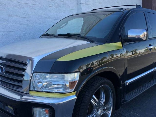 At $5,900, Could This 2006 Infiniti QX56 Turn You Into A Wrap Artist?