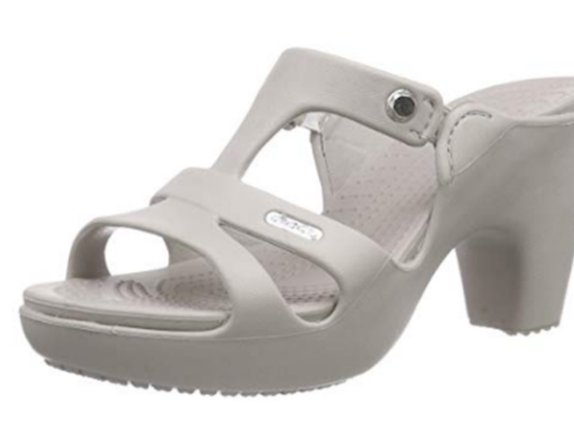 Apparently These Crocs With Heels Are Very Much in Demand