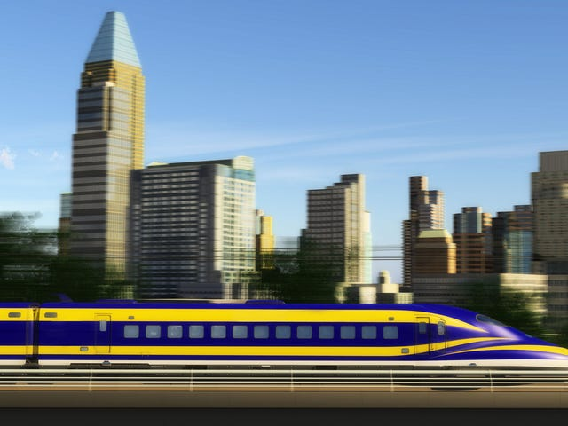 California's Bullet Train Gets Delayed, Leaves Door Wide Open for Hyperloop