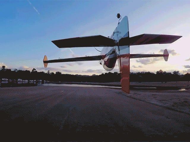 このカメラドローンのパイロットはマッドスキルを持っています