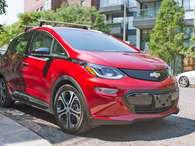 Trademark Reveals Upcoming Chevy Bolt-Based EV Could Be Creatively Called the 'Bolt EUV'