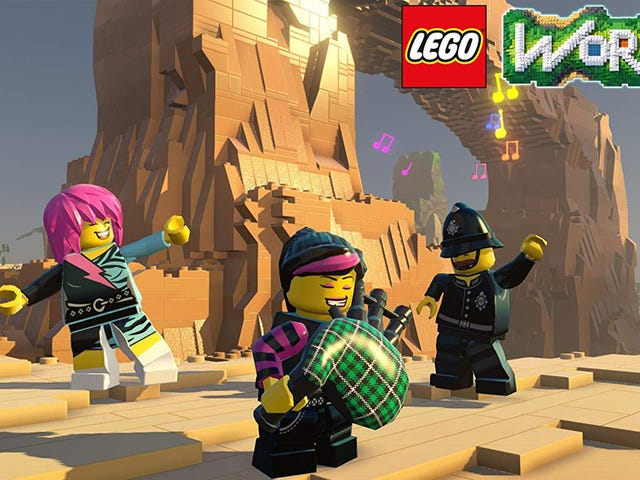 Pick Up LEGO Worlds para Nintendo Switch por apenas $ 14, Right Now