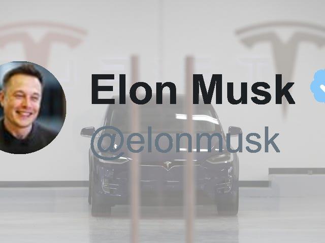 Elon Musk kontynuuje dodawanie podstawowych funkcji do samochodów Tesla na Twitter Feedback