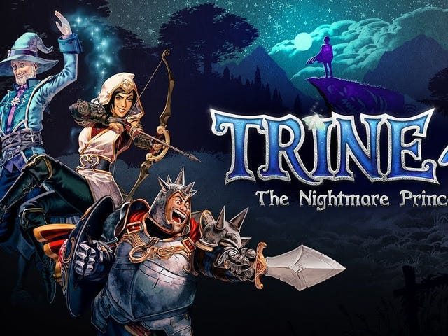 Three heroes unite for a fourth time this fall in Trine 4: The Nightmare Prince