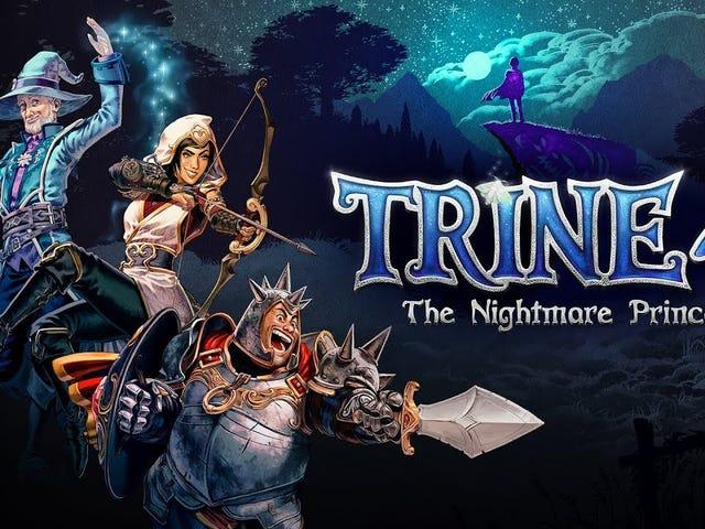 Ba anh hùng hợp nhất lần thứ tư vào mùa thu này trong Trine 4: The Nightmare Prince