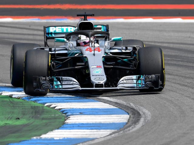 Mercedes Put Up Dominant German GP 1-2 Victory As Ferrari Falters