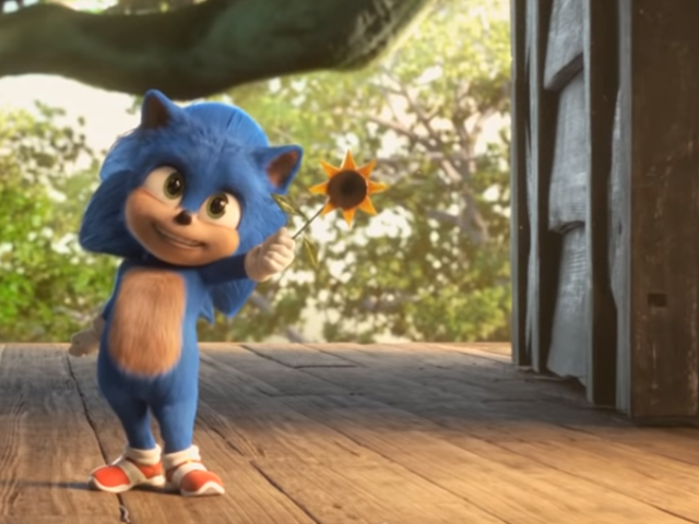 The Sonic the Hedgehog Movie Wants in på den Baby Yoda Hype