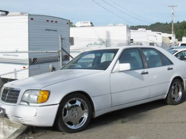 $ 500 Mercedes S-class