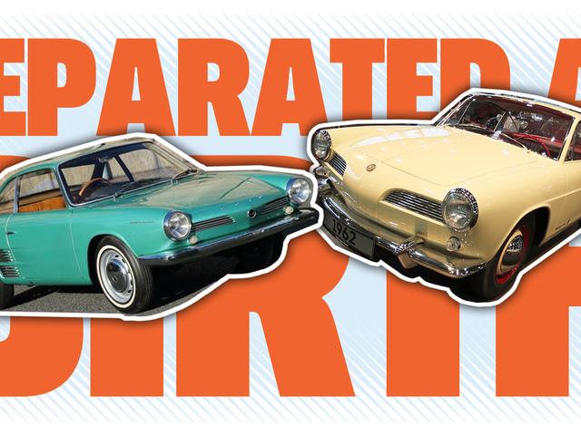 1962 से ये दो लवली रियर-एनगाइड प्रोटोटाइप, विचित्र रूप से समान हैं