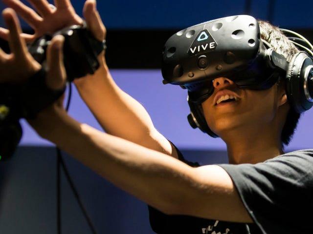 Dave y Buster's Promises 'Truly Memorable' VR paseos que definitivamente no involucrarán a Puking