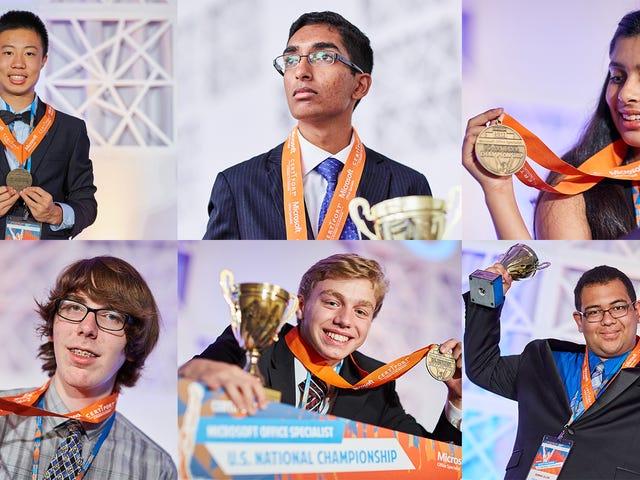 Подростковые чемпионы Microsoft Office поделятся своими лучшими трюками