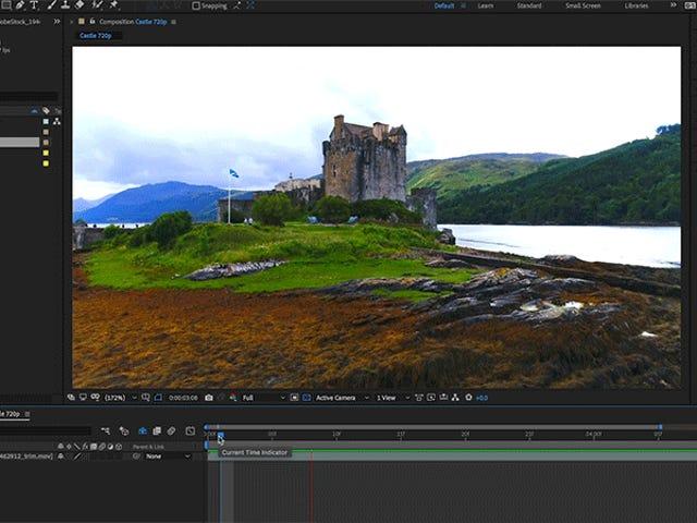 Adobe After Effects ora può cancellare automaticamente gli oggetti nei video clip