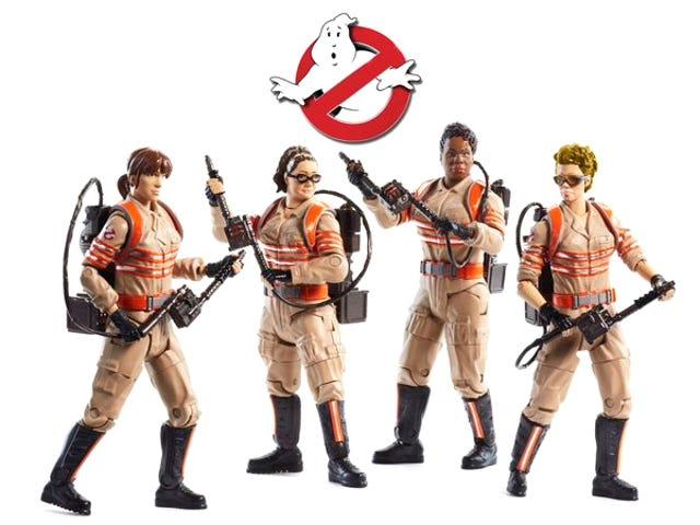Direktör Paul Feig avslöjar de nya <i>Ghostbusters</i> figurerna
