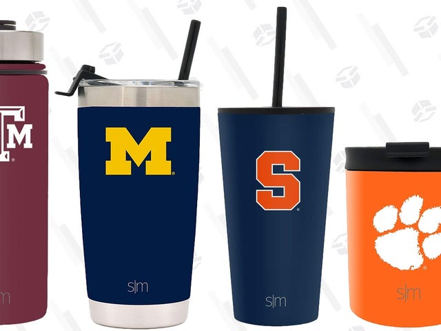 Stay Hydrated Through Bowl Season, March Madness, and Beyond With This One-Day Drinkware Sale
