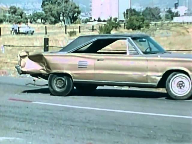 """Counter-Terrorism Training: """"Vehicle Ambush Counter-Attacks"""" circa 1976 California State Police"""