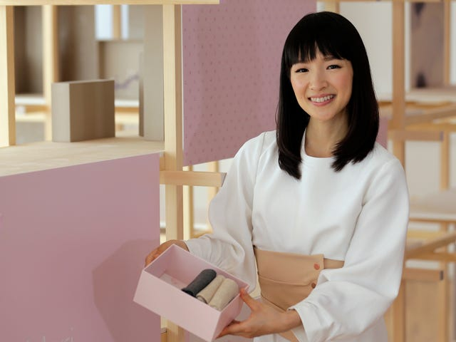 Personal Organizer to the Stars Accuses Marie Kondo of Ripping Off Her Folding Technique