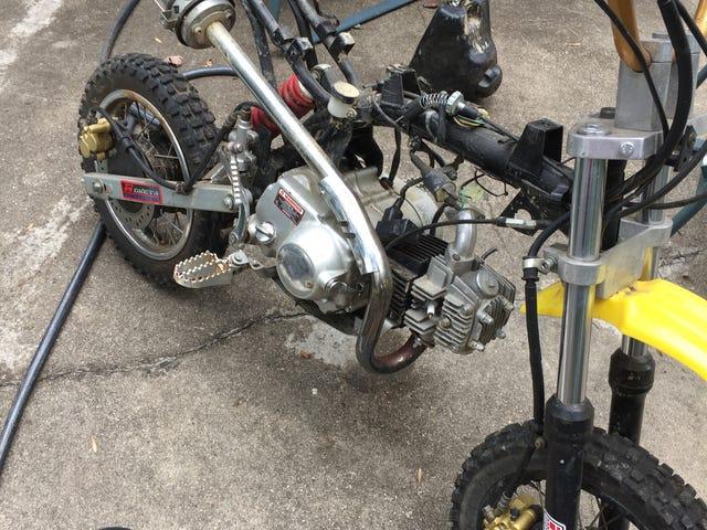 Dirt bike disection