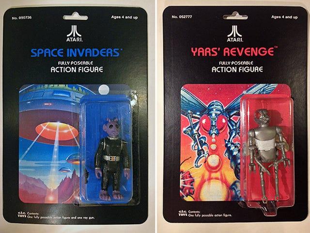 Angka Tindakan Custom yang Sempurna Berdasarkan Seni Kotak Permainan Video Atari Klasik