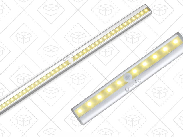 Here Are the First Ever Discounts On OxyLED's New Warm-Tinted Motion Lights