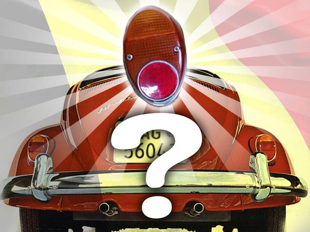 Saatnya untuk Misterius Lampu Belakang Volkswagen Beetle yang Lain