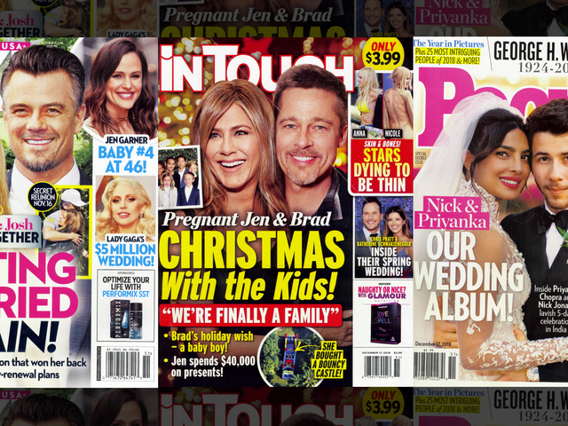 This Week in Tabloids: What Circle of Hell Is This Nonexistent Brad and Jen News Cycle?