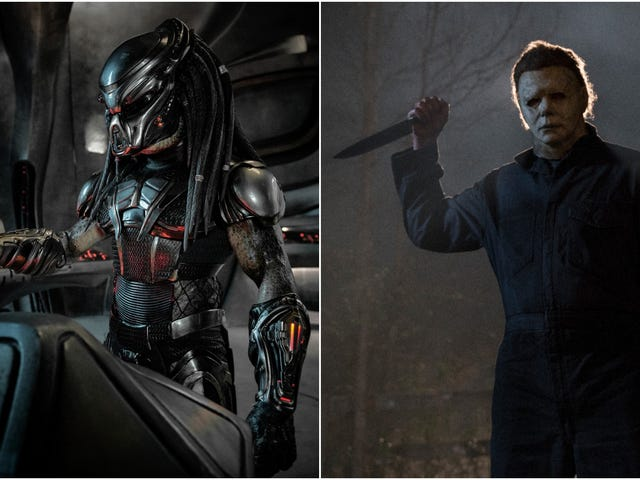 Halloween and The Predator will both premiere at the Toronto International Film Festival