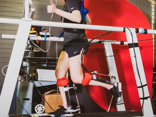 Exoskeleton mắt cá chân này được thiết kế để làm cho chạy dễ dàng hơn