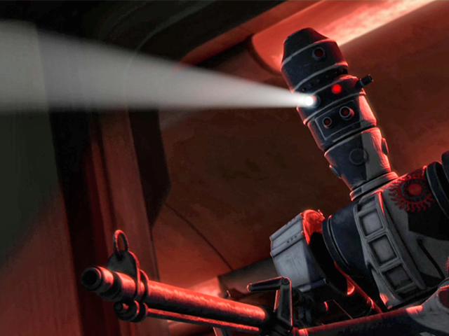 The Mandalorian 's Robot Bounty Hunter ay Hindi ang Droid na Hinahanap mo