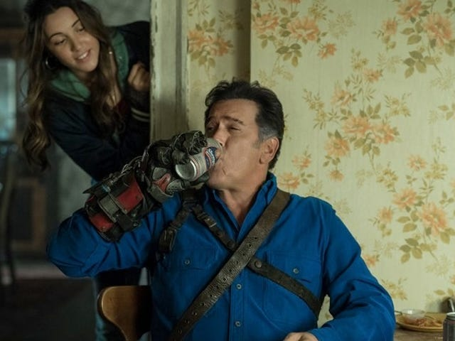 Making Ash a Dad on Ash vs. Evil Dead Has Made the Show Even More Kick-Ass