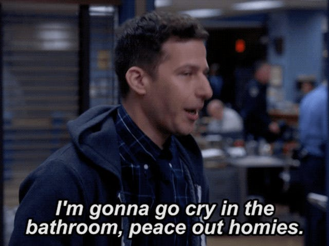 Brooklyn Nine-Nine is canceled and everything is garbage