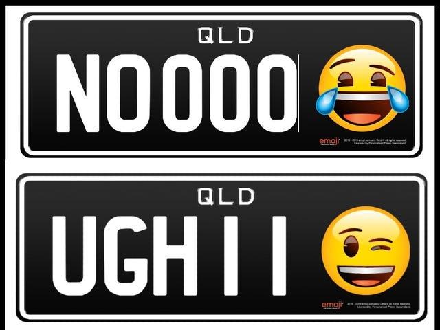 Plat Lesen Emoji Adalah Satu Perkara Sekarang Kerana Semua Yang Mengerikan