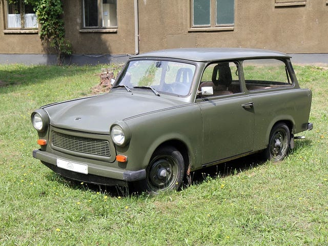 You can import a Trabi today, just saying.