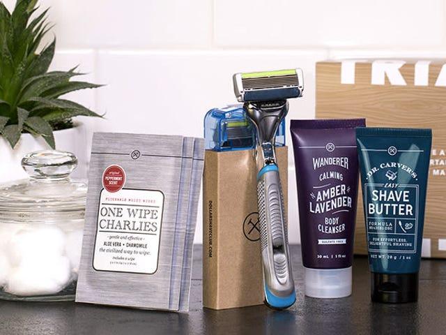Dapatkan Set Pemula Shave Club Club: Pisau Cukur, Cukur Cukur, Pembersih Tubuh, & Wipes, Hanya $ 5