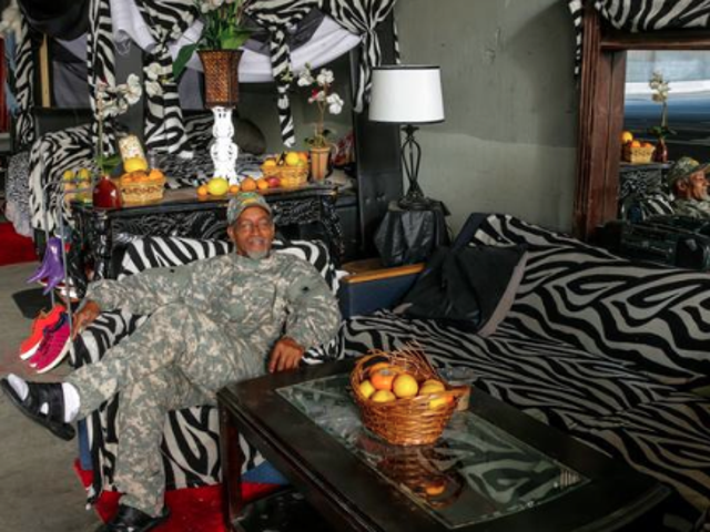 This Homeless Man's Swanked-Out Digs Include a Bed and Living Room