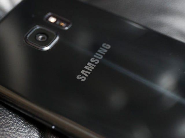 """Зауваження Los Galaxy 7 Зауважте, що Samsung має ідентифікаційні номери """"S"""""""