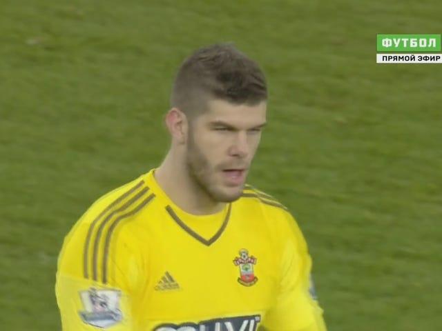 Arsenal ei pystynyt ehtimään eilen, koska Fraser Forster kääntyi tiiliseinään