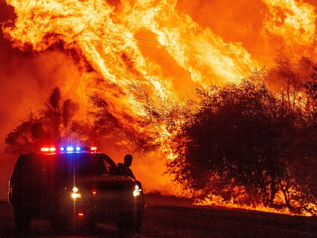 The Biggest Wildfire in California History Is Happening Right Now
