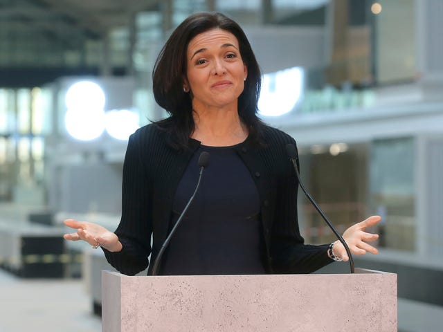 Sheryl Sandberg: The Teens 'Consented' to Putting Facebook Spyware on Their Phones