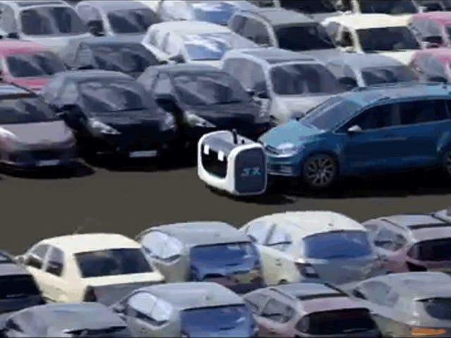 L'aéroport britannique de Gatwick expérimente des robots de service pour garer des voitures