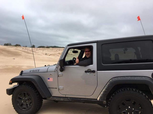 Went to the dunes... did BroJeep things...