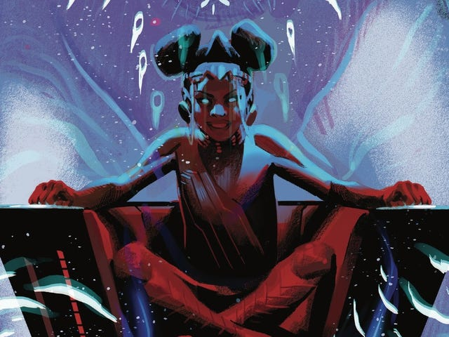 Zenzi unleashes her deadly power in this Black Panther #11 exclusive