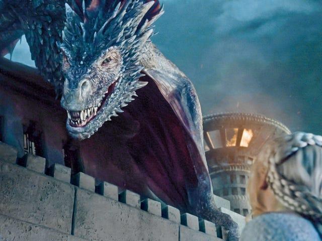 """Game Of Thrones побудована """"Найбільший у світі вогонь-дихаючий кран"""" для Drogon"""