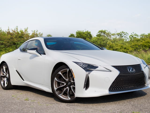 You Can Get Up to $5,000 Off a Wonderful Lexus LC Coupe Right Now