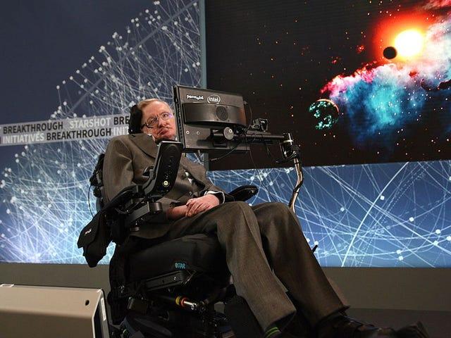 RIP Stephen Hawking (updated)