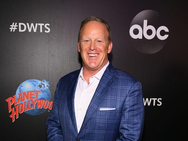 Dancing With The Stars host sounds pretty pissed about Sean Spicer dancing with the stars