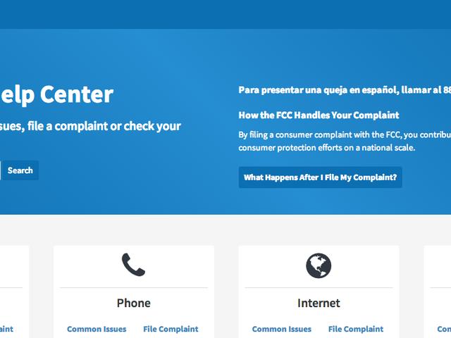 FCC lanceert Slick New Public Complaint Site
