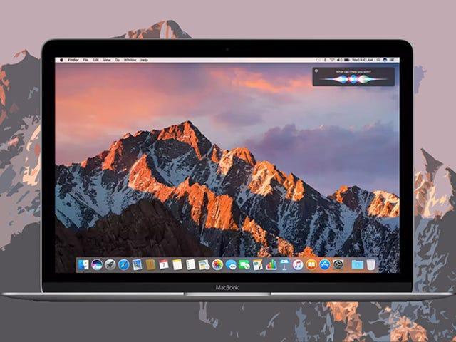 13 choses que vous pouvez faire avec MacOS Sierra que vous ne pouviez pas auparavant