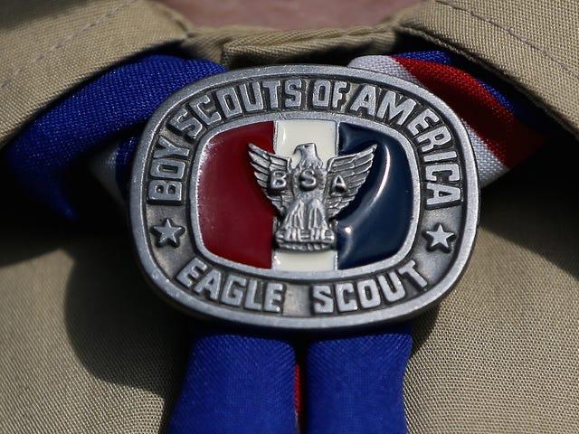 Boy Scouts och Girl Scouts är Beefing