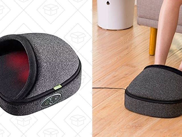 Treat Your Feet To This Deep Tissue Massager, Just $40