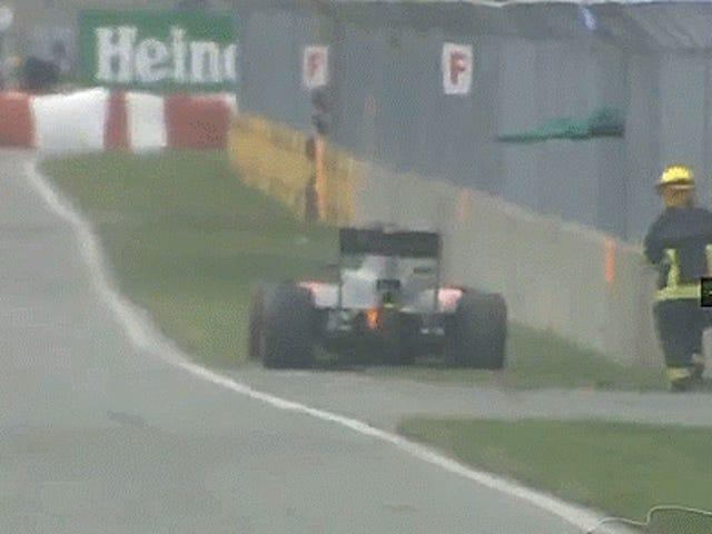 ジェンソンバトンはカナダのグランプリから車でSmoresを作るために引退した